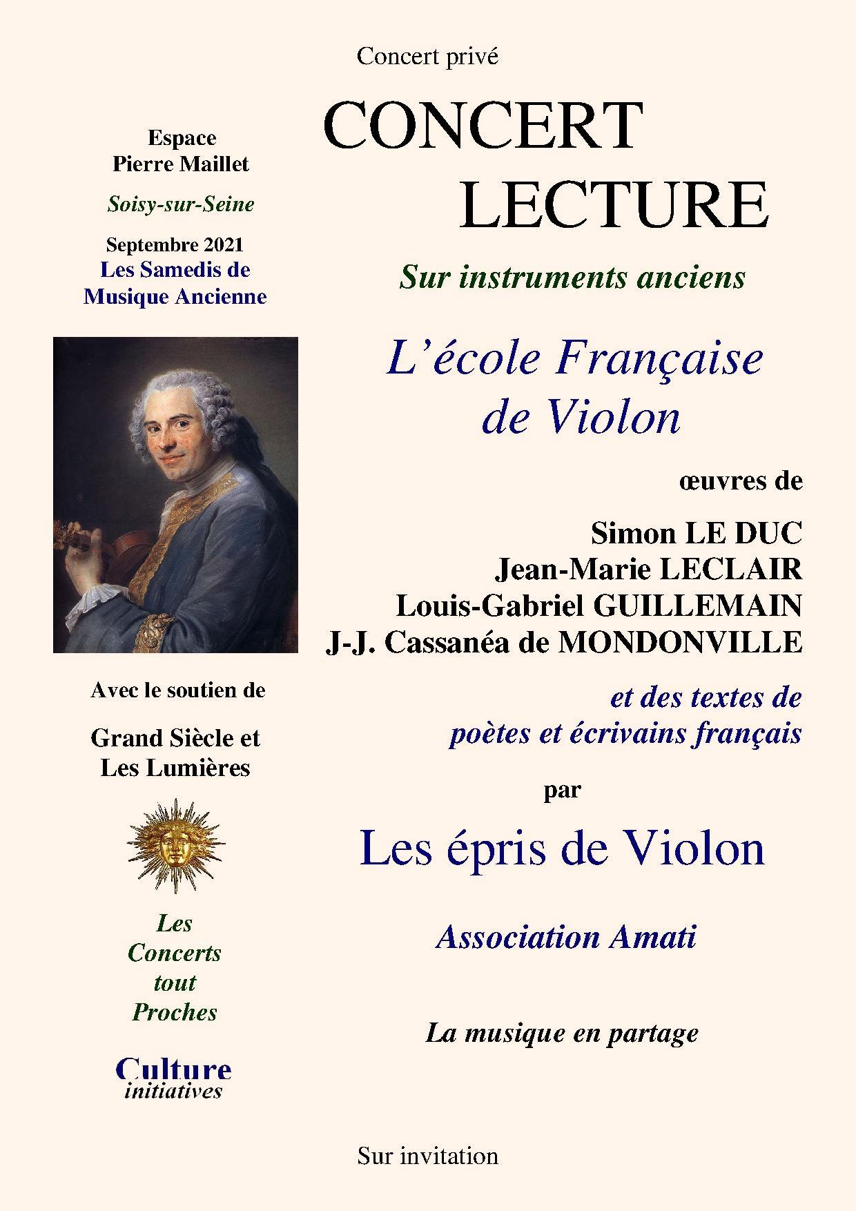 L'école Française de Violon