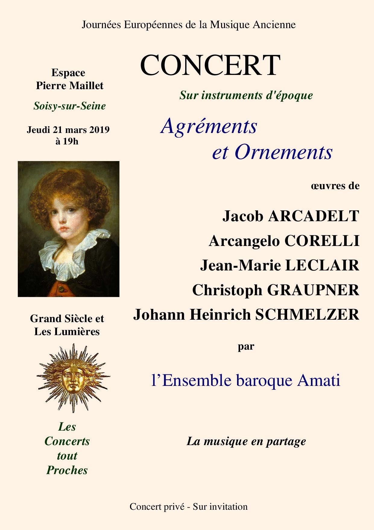 Agréments et Ornements