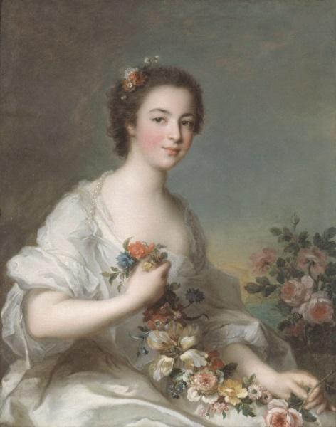 Nattier Portrait de Dame