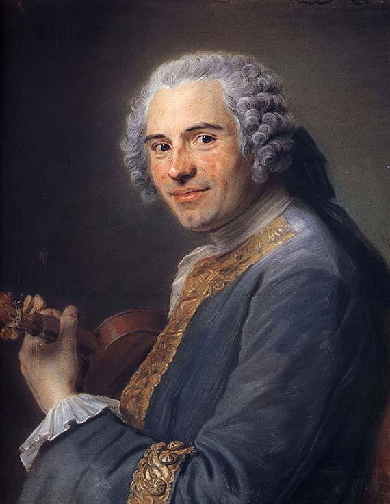 Quentin de La Tour - Jean-Joseph Cassanéa de Mondonville [1747]